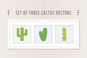 Cactus Vector Set