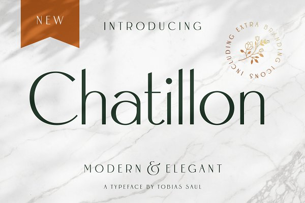 Chatillon Font + Extras