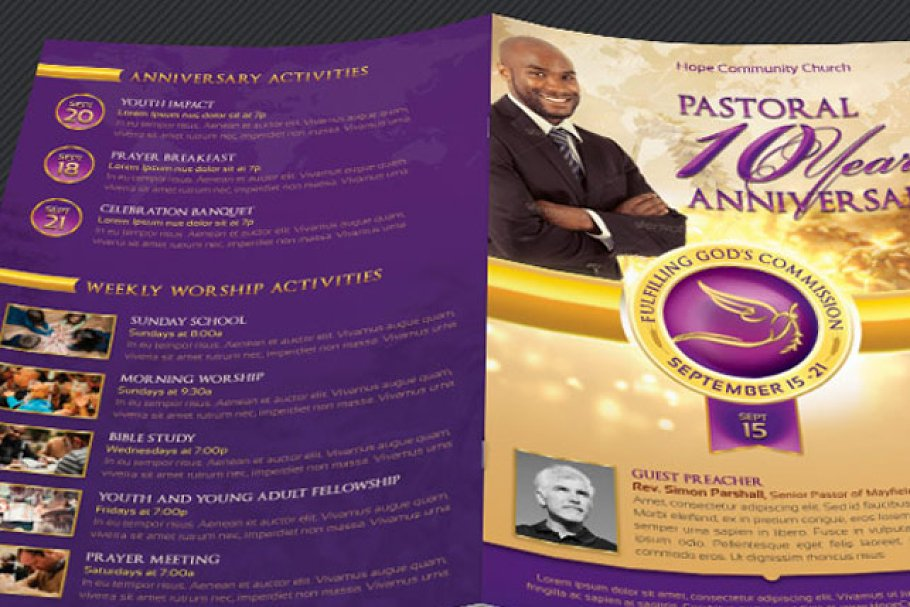 free pastor anniversary program templates best of clergy.html