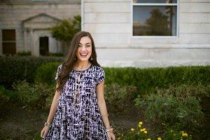 Smiling girl- model