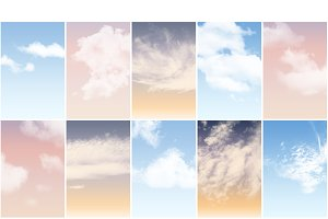 Cloud Brushes and Sky actions