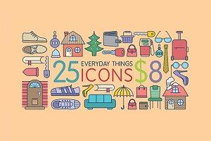 Amazing Flat Icons - Everyday Things