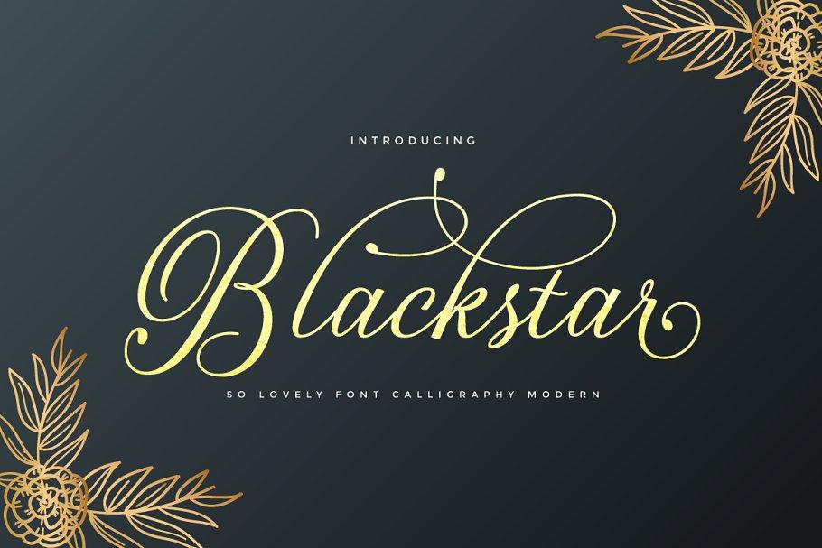 Blackstar | Modern Calligraphy