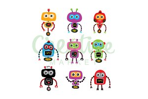 Cute Robot Collection