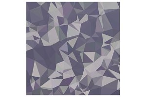 Lavender Purple Abstract Low Polygon