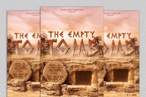 Empty Tomb Flyer Template