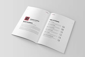 Brand Manual Template Vol 2