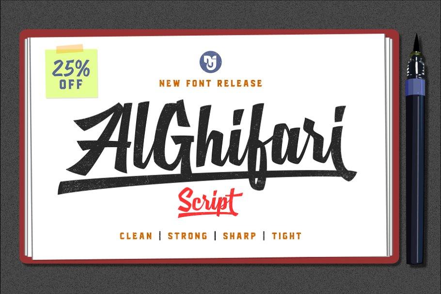 AlGhifari Script ~ Script Fonts ~ Creative Market