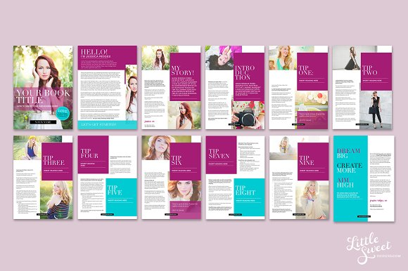 Magazine / eBook Template InDesign in Magazine Templates - product preview 1