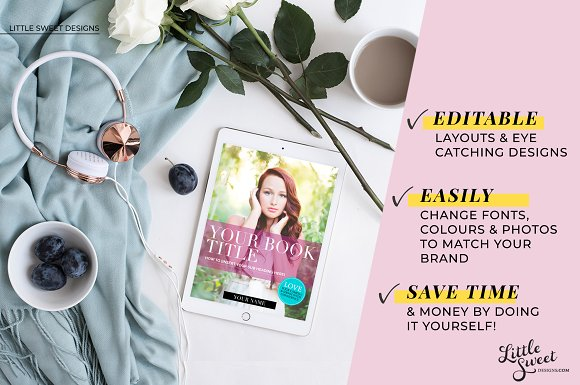 Magazine / eBook Template InDesign in Magazine Templates - product preview 2