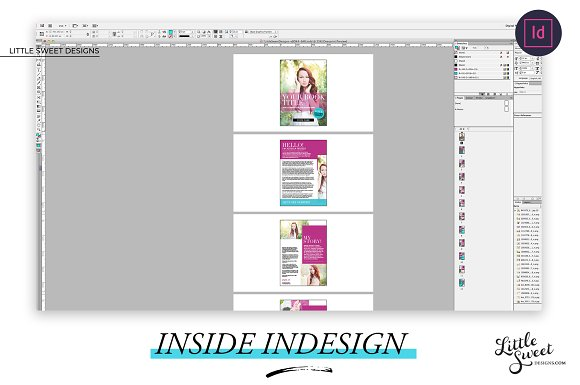 Magazine / eBook Template InDesign in Magazine Templates - product preview 3