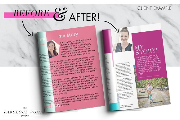 Magazine / eBook Template InDesign in Magazine Templates - product preview 6
