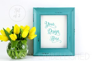 Set of 2 ~ Styled Frame Mockup