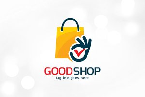 Good Shop Logo Template