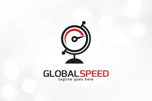 Global Speed Logo Template