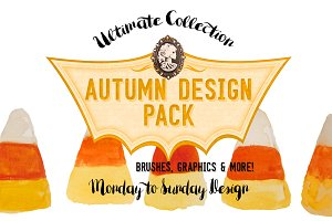 Autumn Bonus Brush & Graphic Pack!