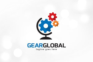 Gear Global Logo Template