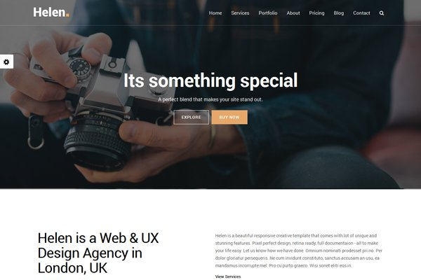 Bootstrap Themes: LionCoders - Helen - Creative MultiPurpose Theme