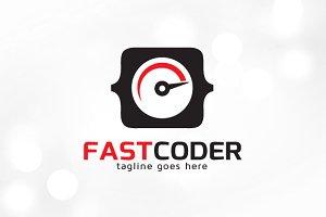 Fast Coder Logo Template