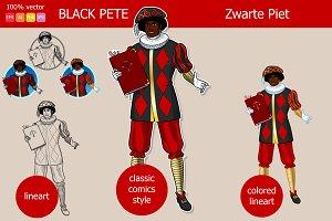 Christmas character: Zwarte Piet