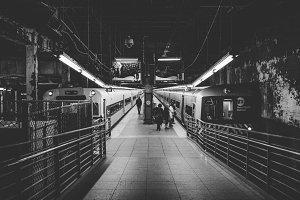 Subway B/W