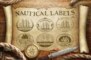 Nautical Labels vol. 1
