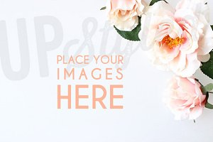 A125 Stock Photo Flowers Mock Up