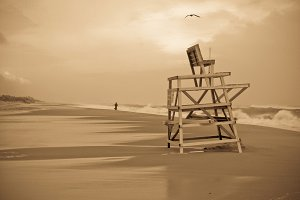The Lifeguard Chair
