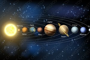 Solar System Planets Illustrations