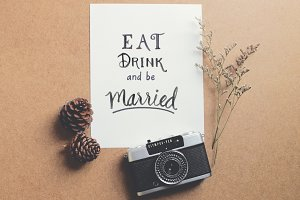 Eat drink and be married on paper