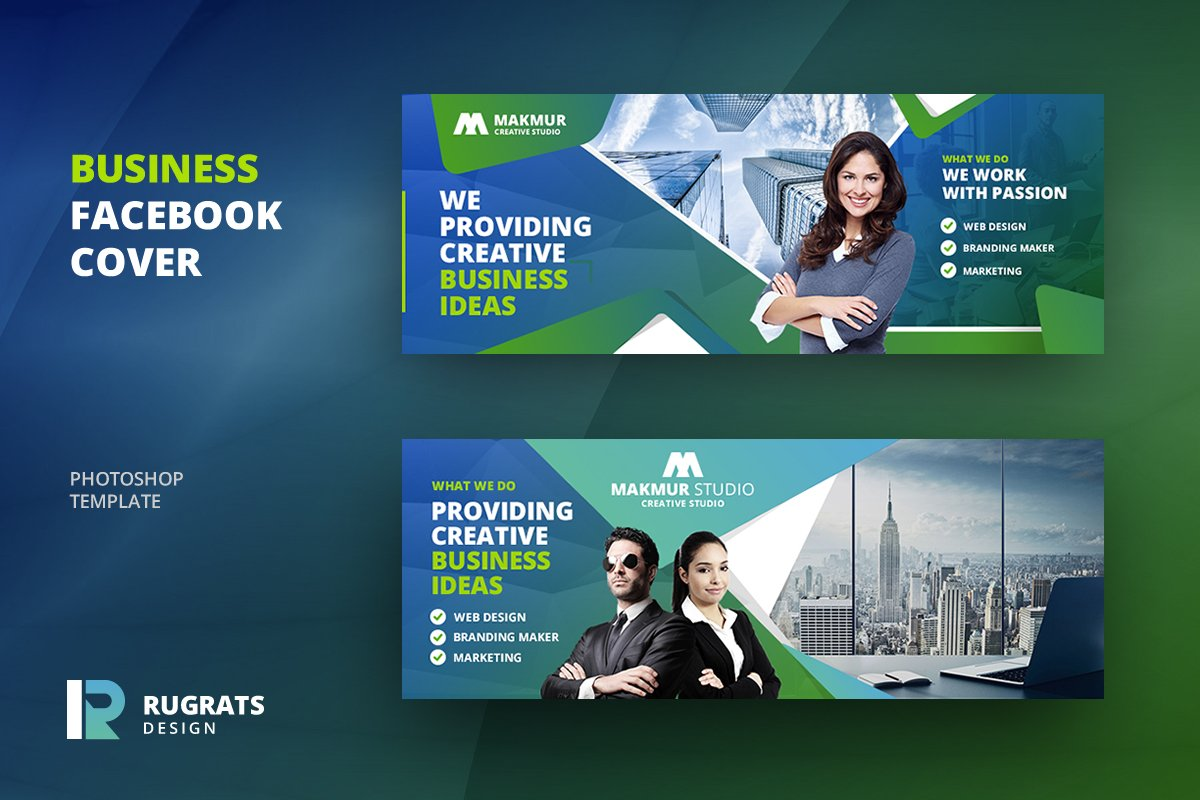 Business R4 Facebook Cover Template