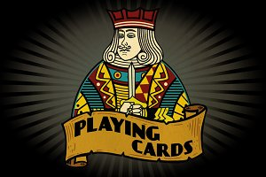 Playing Card Vector Illustrations