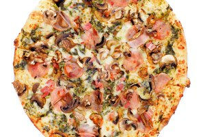 Mushrooms Pizza