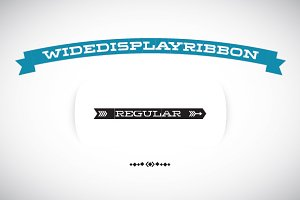 WideDisplayRibbon Regular