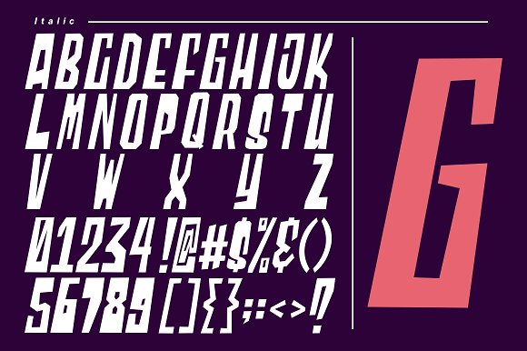 Blocky - 2 Styled Font in Display Fonts - product preview 5