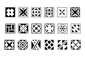 Brick motifs