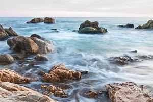 Costa Brava shore