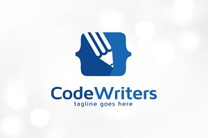 Code Writers Logo Template