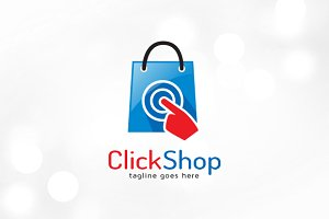 Click Shop Logo Template