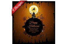 9 Halloween Greeting Card