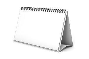 Desk Calendar 3D Template