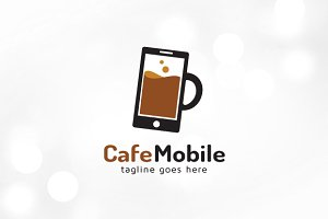 Cafe Mobile/ Water Mobile Logo