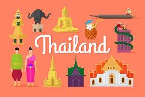 Thailand vector collection