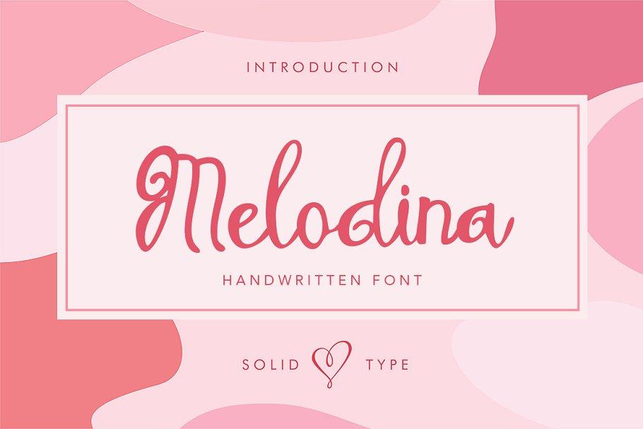 Melodina Script