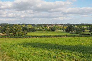 English countryside landscape