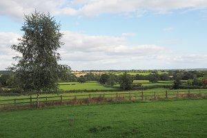 English countryside landscape