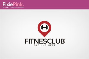 Fitnes Club Logo Template