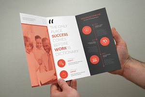 Clean Multipurpose Trifold Brochure
