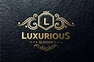 Luxurious Logo template