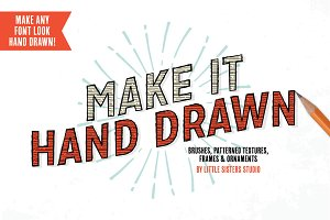 Make It Hand Drawn - Vector Kit